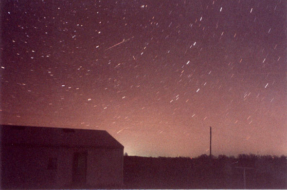 The Leonids - Photo copyright by AAAA Member Prenda Culbertson
